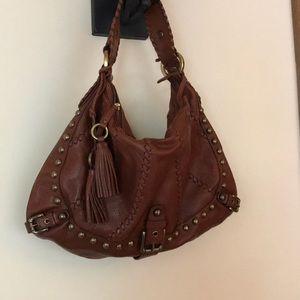 Isabella Fiore Boho Leather bag